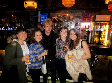 Fan-girling the lead singer of Kodaline in Nice'n'Sleazy
